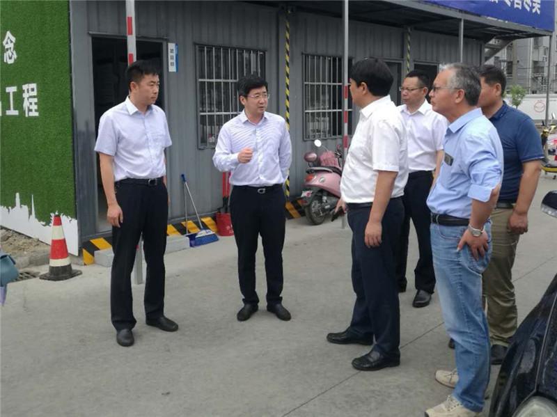 陈鹏军率队视察千亿体育网站重点工程项目